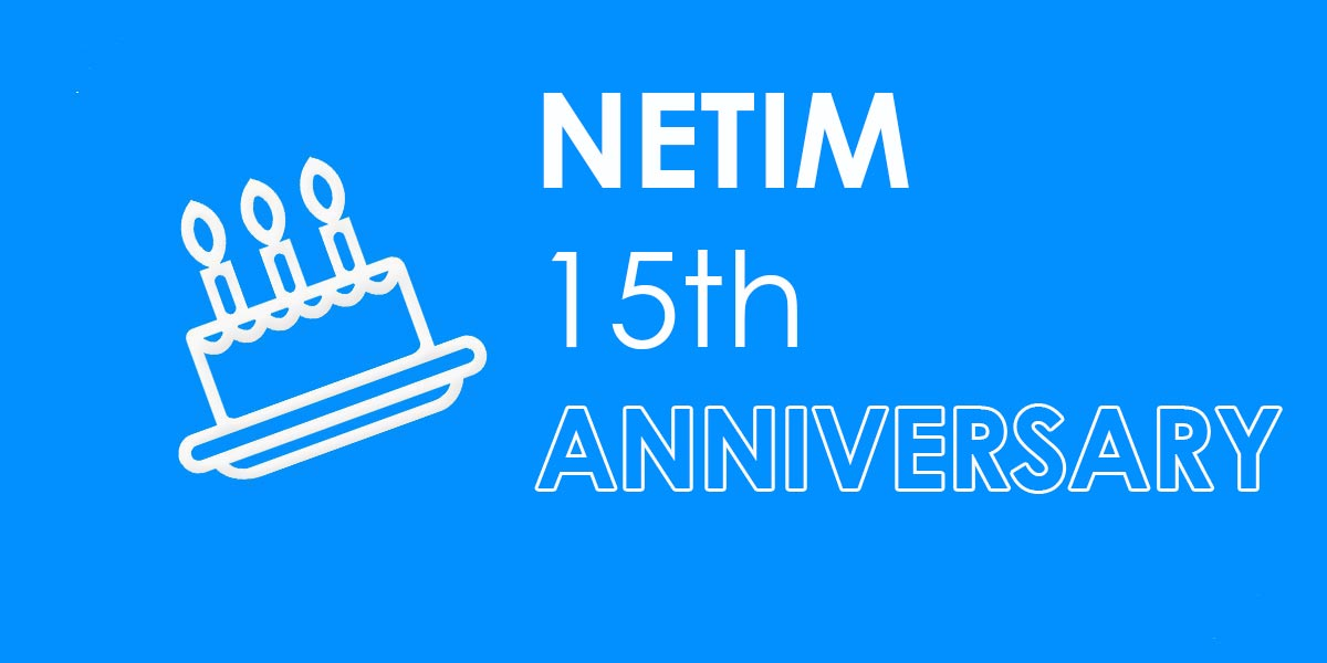 Photo of NETIM 15th anniversary: find out about our latest news & gifts!