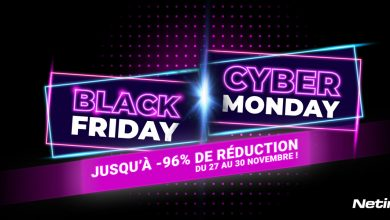 Black Friday Cyber Monday Netim