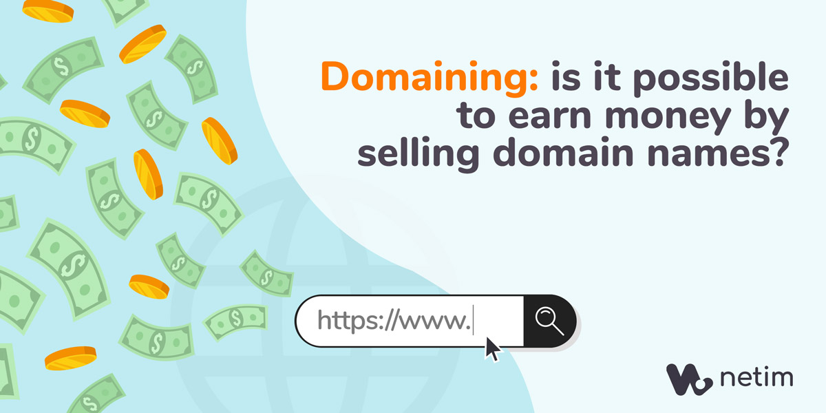 Domaining: is it possible to earn money by selling domain names?