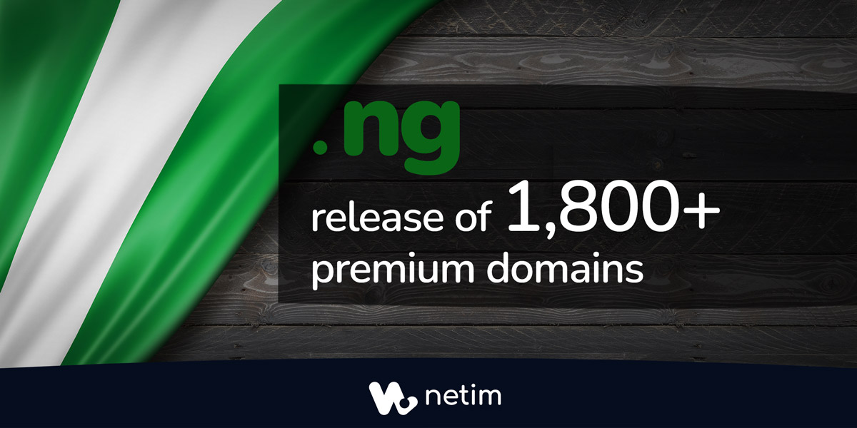 .NG (Nigeria) reveals its news, from premium domains to special offers!